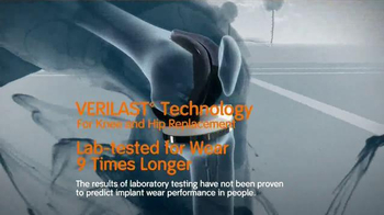 Smith & Nephew Verilast TV Spot, 'Knee and Hip Replacements' - Thumbnail 5