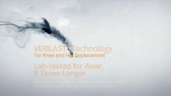 Smith & Nephew Verilast TV Spot, 'Knee and Hip Replacements' - Thumbnail 6
