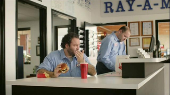Wendy's Bacon & Blue on Brioche TV Spot, 'Ray-A-Motive' - Thumbnail 4