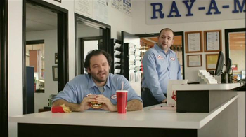 Wendy's Bacon & Blue on Brioche TV Spot, 'Ray-A-Motive' - 2227 commercial airings