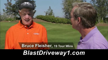 Kick X Golf Blast Driveway TV Spot, 'Blast It' - 423 commercial airings