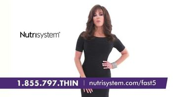 Nutrisystem Fast 5+ and Nutricurb TV Spot, 'Little Black Dress' - 213 commercial airings