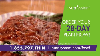 Nutrisystem Fast 5+ and Nutricurb TV Spot, 'Little Black Dress' - Thumbnail 4