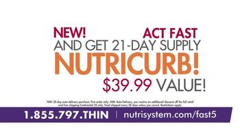 Nutrisystem Fast 5+ and Nutricurb TV Spot, 'Little Black Dress' - Thumbnail 6