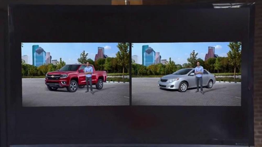 Chevy Silverado Guy >> 2015 Chevrolet Colorado TV Commercial, 'Focus Group: Pets ...