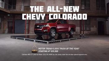 2015 Chevrolet Colorado TV Spot, 'Focus Group: Pets' - Thumbnail 7