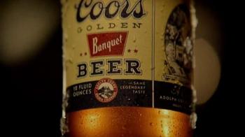Coors Golden Banquet TV Spot, '1936 Stubby Bottle' - Thumbnail 1