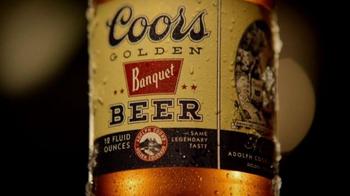 Coors Golden Banquet TV Spot, '1936 Stubby Bottle' - Thumbnail 2