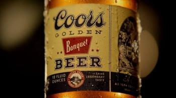 Coors Golden Banquet TV Spot, '1936 Stubby Bottle' - Thumbnail 3