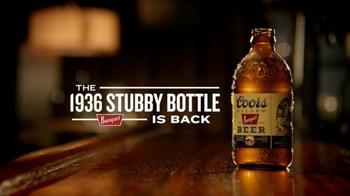 Coors Golden Banquet TV Spot, '1936 Stubby Bottle' - Thumbnail 7