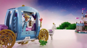 LEGO Disney Princess TV Spot, 'Cinderella's Castle' - Thumbnail 9