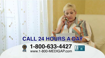1-800MediGap TV Spot, 'Health Insurance for Individuals and Families' - Thumbnail 7