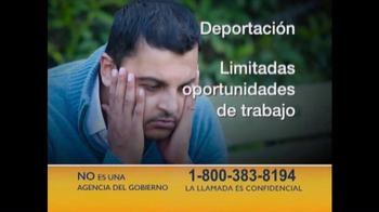 Abogado de Inmigración TV Spot, 'No Viva con Miedo' [Spanish] - Thumbnail 1
