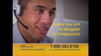 Abogado de Inmigración TV Spot, 'No Viva con Miedo' [Spanish] - Thumbnail 2