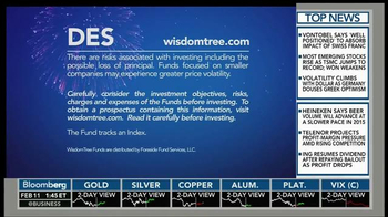 WisdomTree DES TV Spot, 'Investing in You' - Thumbnail 5
