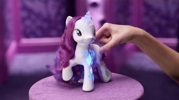 My Little Pony Glamour Glow Rarity TV Spot, 'Shine Bright'