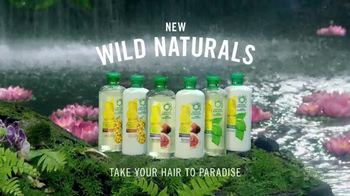 Herbal Essences Wild Naturals TV Spot, 'Take Your Hair to Paradise' - Thumbnail 8