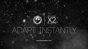 Dragon Alliance Advanced Project X2 Goggles TV Spot, 'Adapt Instantly' - Thumbnail 9