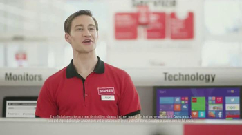 Staples Price Match Guarantee TV Spot, 'Tom Foolery' - Thumbnail 4