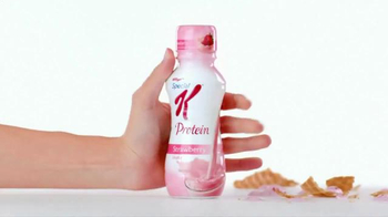 Special K Strawberry Protein Shake TV Spot, 'Temptation Gets Licked' - Thumbnail 5