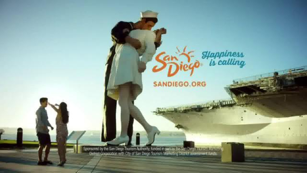 San Diego.org TV Commercial, 'Happiness is Calling: Smiles'