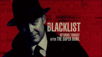 The Blacklist Super Bowl 2015 TV Promo