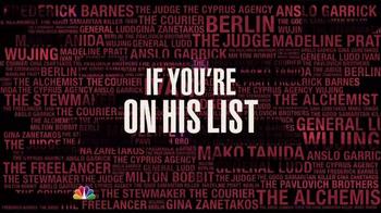The Blacklist Super Bowl 2015 TV Promo - Thumbnail 3