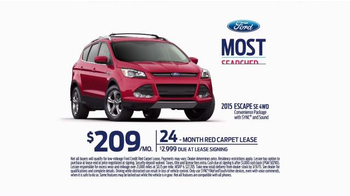 2015 Ford Escape Super Bowl 2015 TV Spot, 'Most Searched' - Thumbnail 9