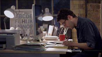 GoDaddy Super Bowl 2015 TV Spot, 'Working' - Thumbnail 2
