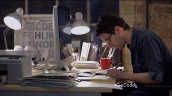 GoDaddy Super Bowl 2015 TV Spot, 'Working' - Thumbnail 4