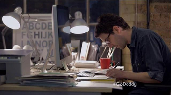 GoDaddy Super Bowl 2015 TV Spot, 'Working' - Thumbnail 5
