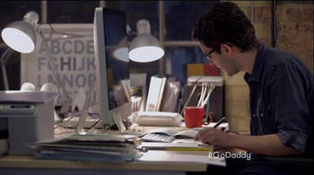 GoDaddy Super Bowl 2015 TV Spot, 'Working' - Thumbnail 6