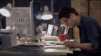 GoDaddy Super Bowl 2015 TV Spot, 'Working' - Thumbnail 7