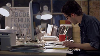 GoDaddy Super Bowl 2015 TV Spot, 'Working' - Thumbnail 8