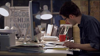 GoDaddy Super Bowl 2015 TV Spot, 'Working' - Thumbnail 9