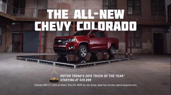 2015 Chevrolet Colorado Super Bowl 2015 TV Spot, 'Focus Group: Sexier' - Thumbnail 7