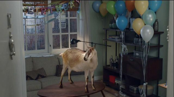 Discover It Card Super Bowl 2015 TV Spot, 'Goat Surprise'