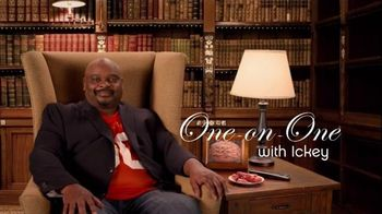GEICO Super Bowl 2015 TV Spot, 'One on One: Ickey' Featuring Ickey Woods - 1 commercial airings