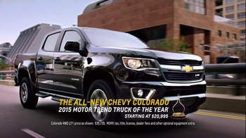 2015 Chevrolet Colorado Super Bowl 2015 TV Spot, 'If Your TV Went Out' - Thumbnail 7