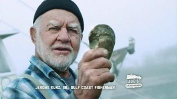 Joe's Crab Shack TV Spot, 'Joe's Straight Talk on Oysters'
