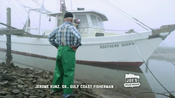 Joe's Crab Shack TV Spot, 'Joe's Straight Talk on Oysters' - Thumbnail 1