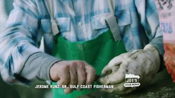 Joe's Crab Shack TV Spot, 'Joe's Straight Talk on Oysters' - Thumbnail 4