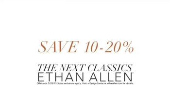 Ethan Allen TV Spot, 'Craftsmanship' - Thumbnail 9