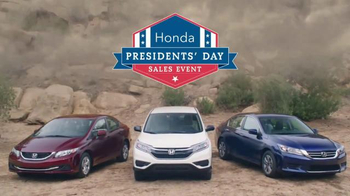 Honda Presidents' Day Sales Event TV Spot, 'Mount Savemore' - Thumbnail 8