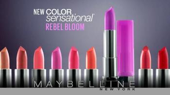 Maybelline New York Rebel Bloom TV Spot, 'Pastel Rebel' - Thumbnail 3