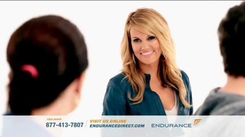 Endurance Direct TV Spot, \'Courtney Hansen on Vehicle Parts and Labor Cost\'