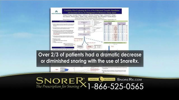 SnoreRx TV Spot, 'Fraction of the Cost of Custom Oral Appliances' - Thumbnail 3