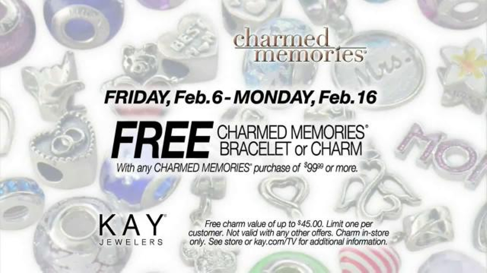 Kay Jewelers Charmed Memories Tv Commercial Everything