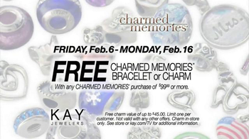 Kay Jewelers Charmed Memories TV Spot, 'Everything You Love: Free Bracelet or Charm' - Thumbnail 7