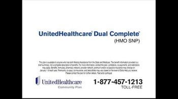UnitedHealthcare Dual Complete TV Spot, 'Huge Difference' - Thumbnail 4